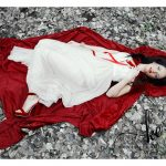 RED RIDING HOOD INSPIRED STYLED PHOTOSHOOT         DELMAS